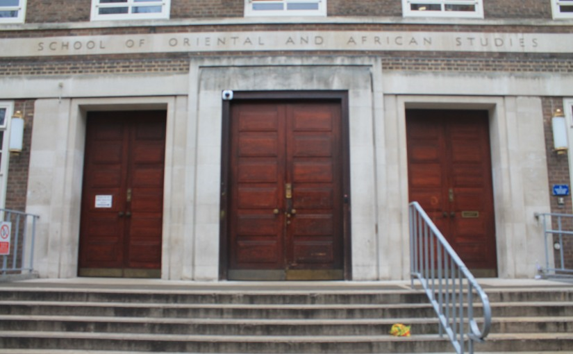 SOAS closes: the suspension of a staff member led toprotests