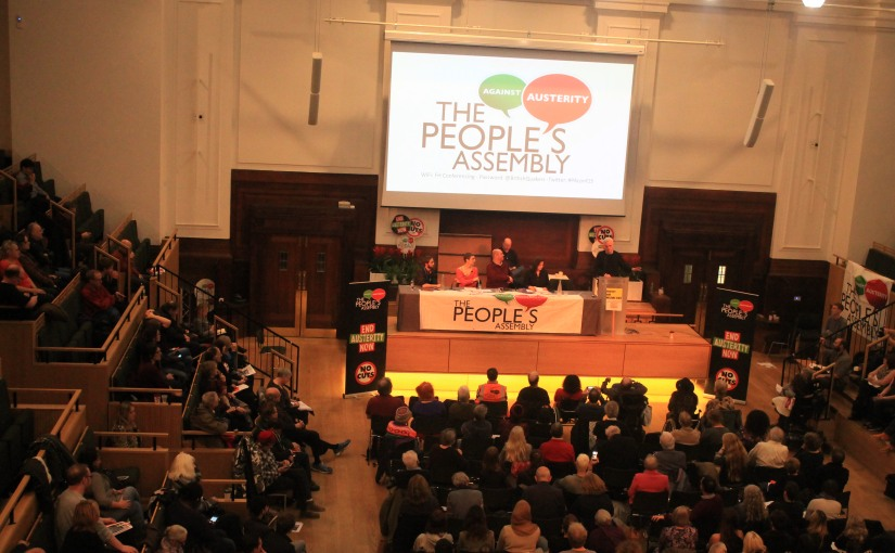The People's Assembly is against bombing and hosts McDonnell andBennett